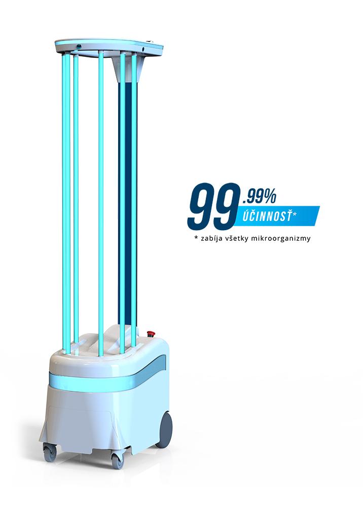 ViroFighter UV dezinfekčný robot