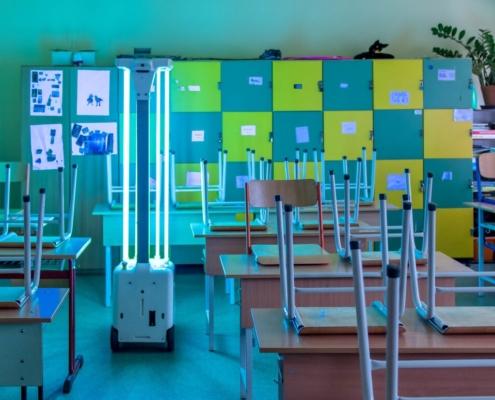 ViroFighter iskola fertőtlenítés